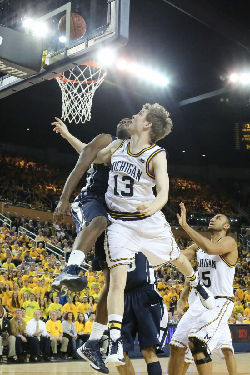 Michigan 79, Penn St. 71-23