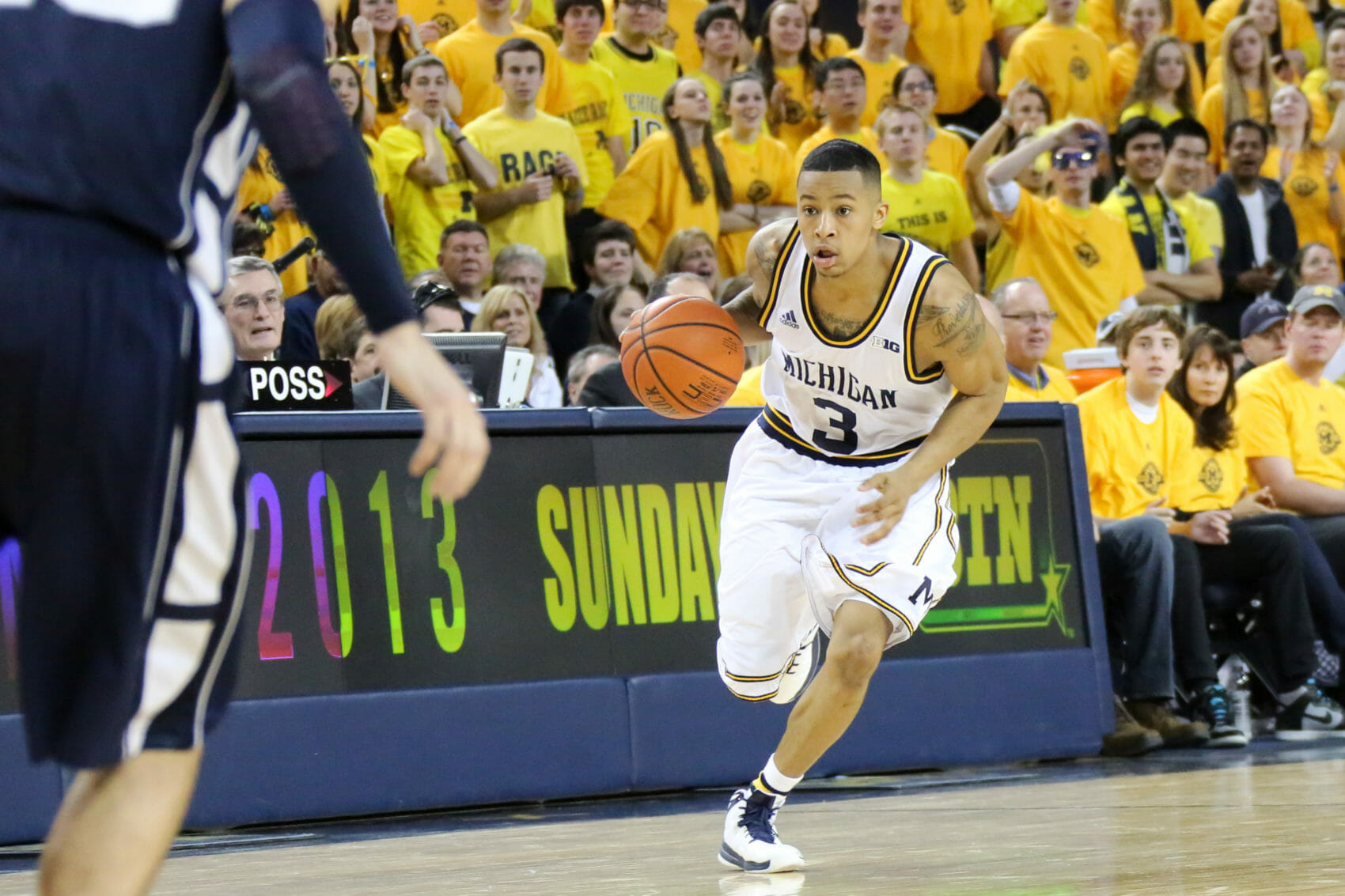 Michigan 79, Penn St. 71-22