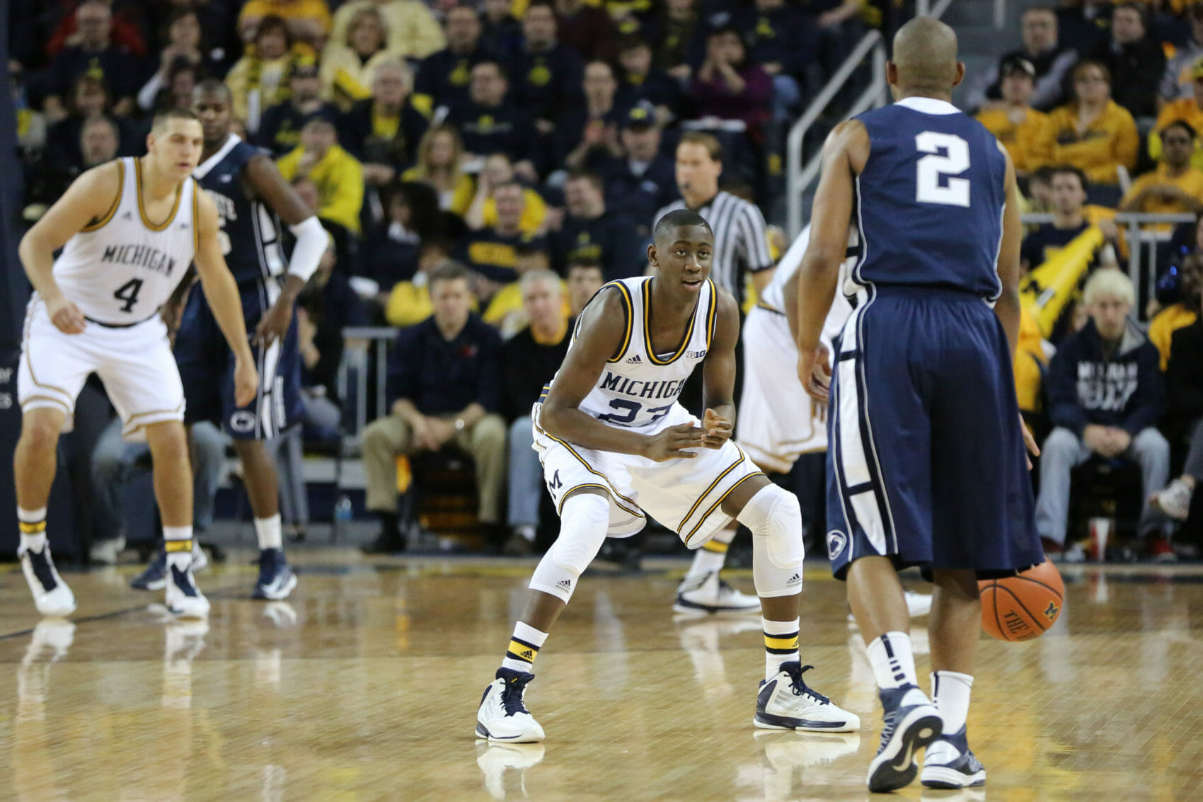 Michigan 79, Penn St. 71-3