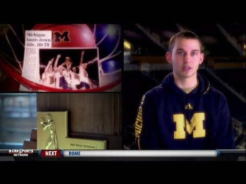 Michigan featured on CBS College Hoops Confidential