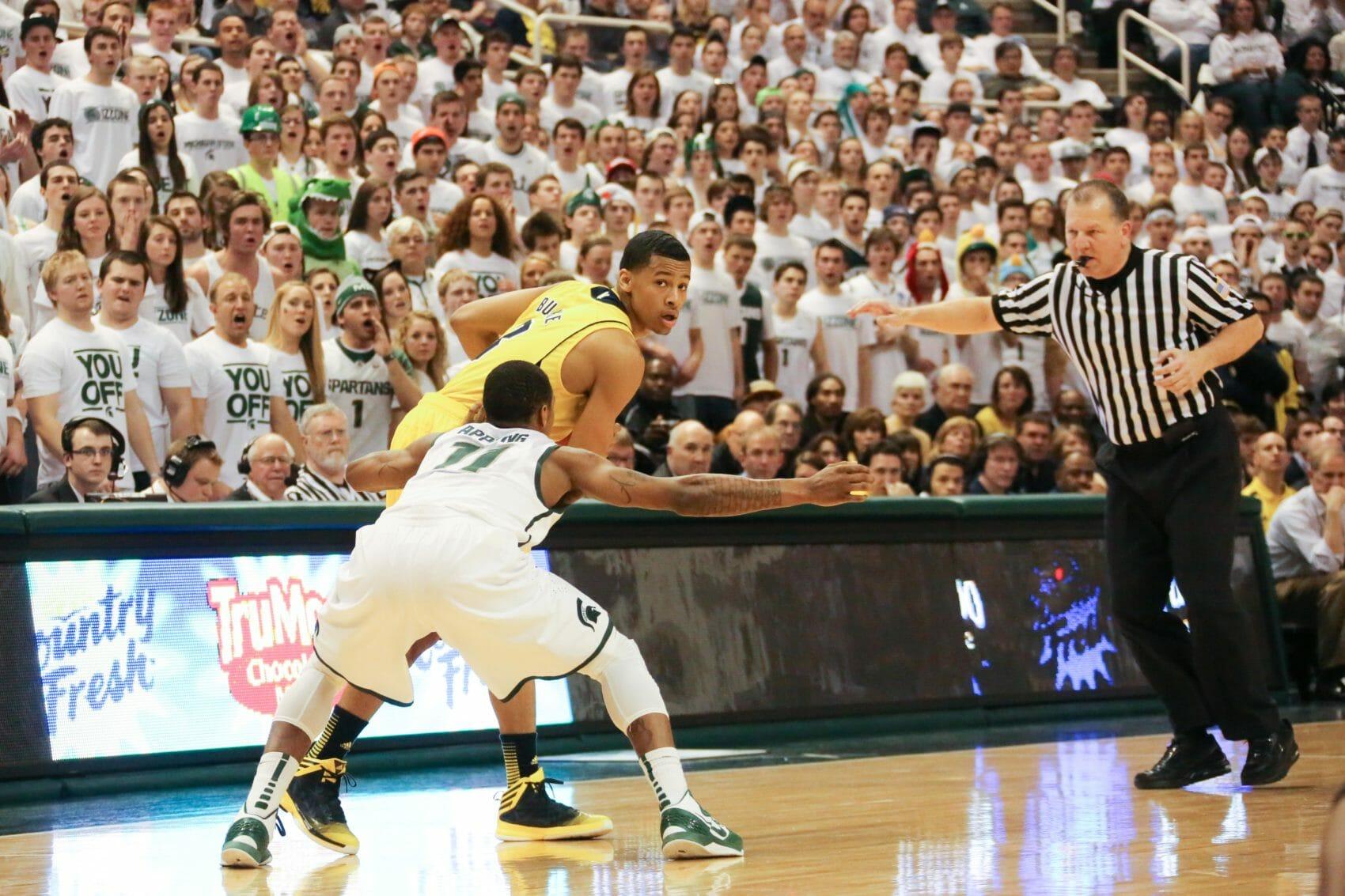 Michigan State 75, Michigan 52-11