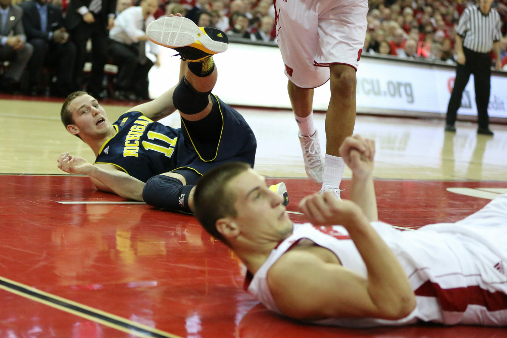 Michigan 62, Wisconsin 65 (OT)-16