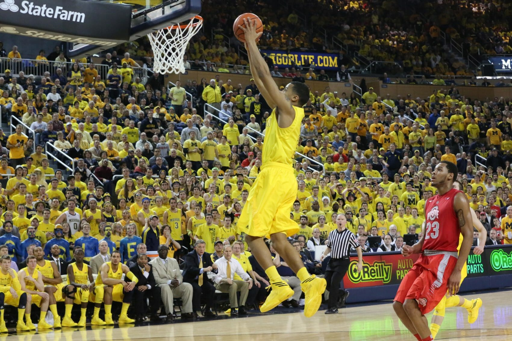 Michigan 76, Ohio State 74 (OT)-21