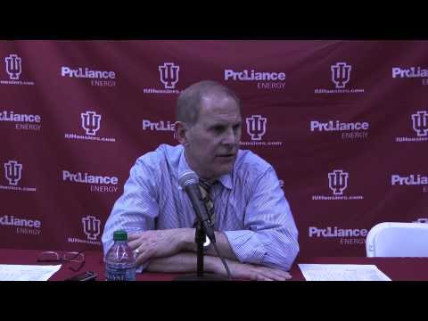 Video & Quotes: John Beilein after Indiana loss