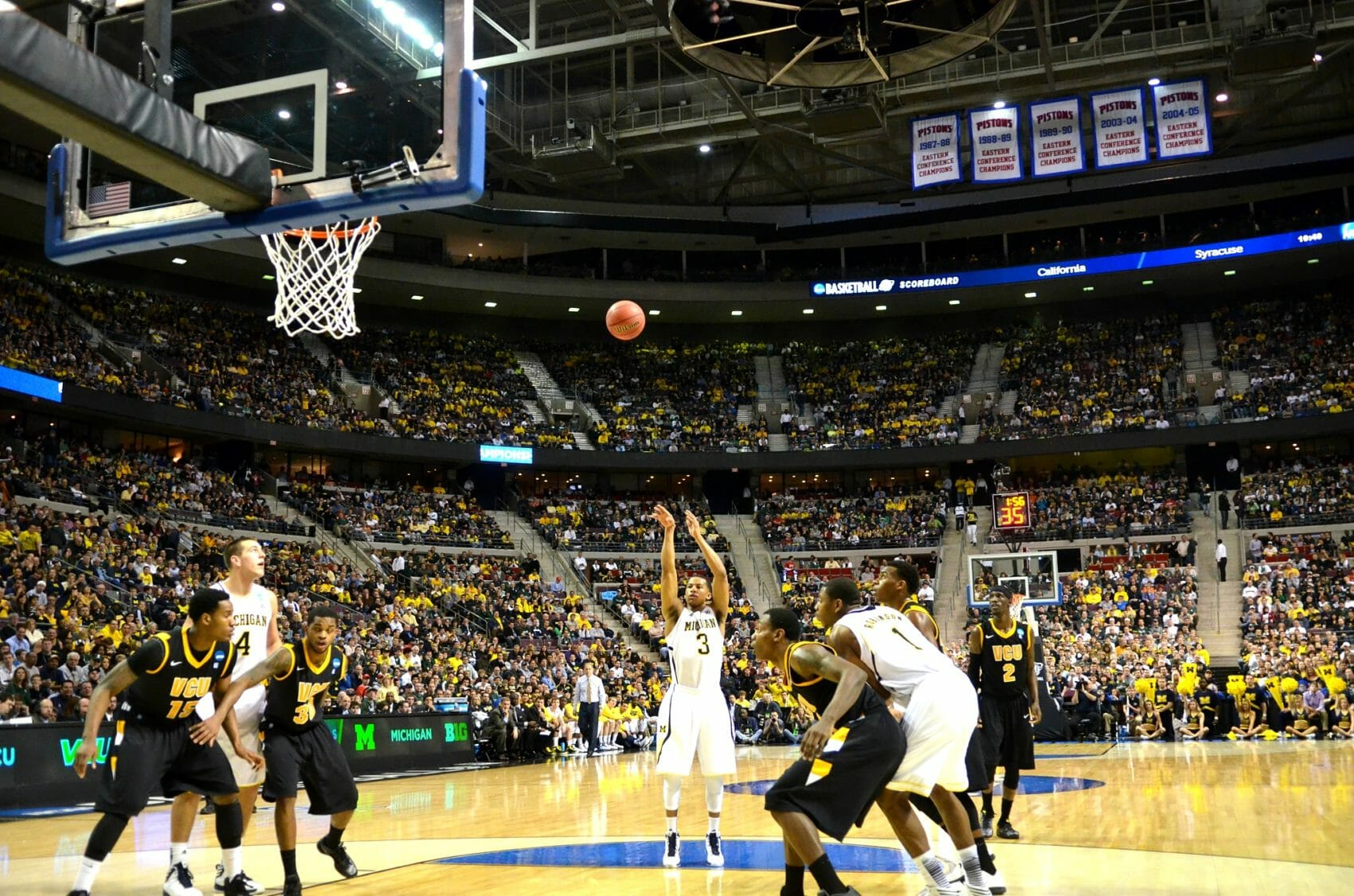 Michigan 78, VCU 53 – 32