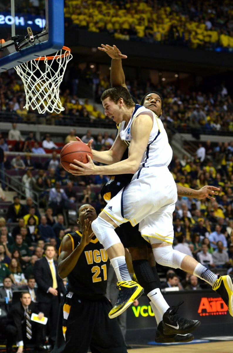Michigan 78, VCU 53 – 26