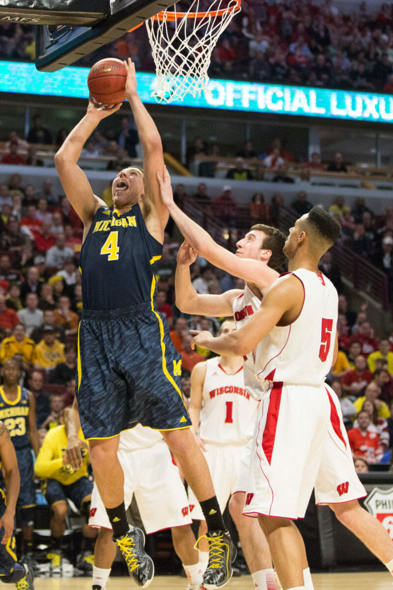 Wisconsin 68, Michigan 59-27