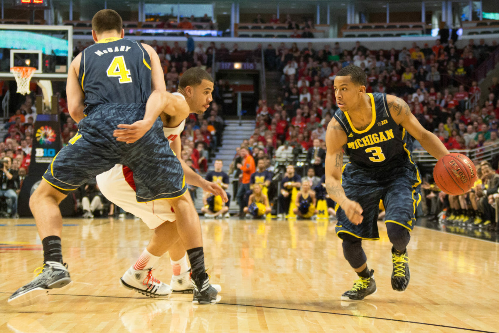 Wisconsin 68, Michigan 59-6