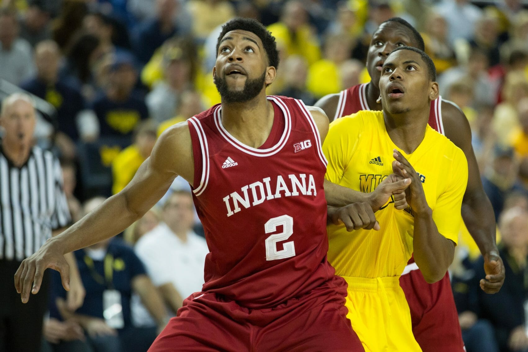 Indiana 72, Michigan 71-21