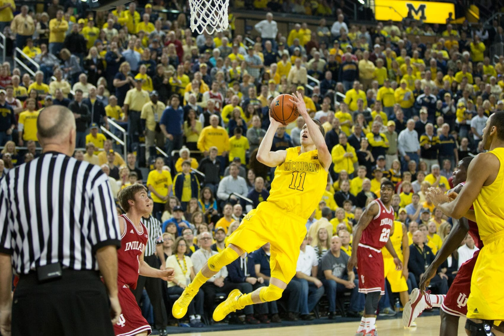 Indiana 72, Michigan 71-10