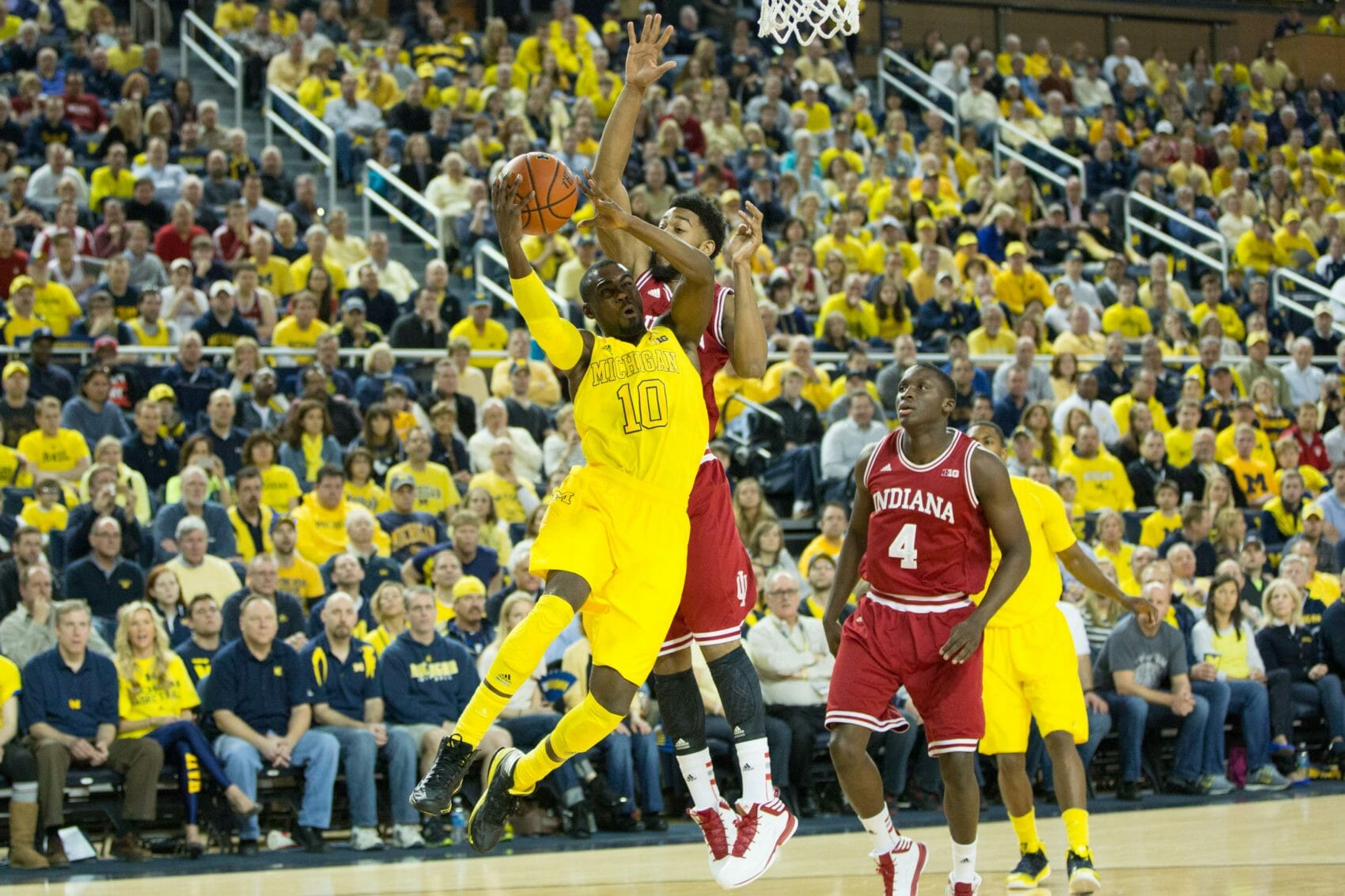 Indiana 72, Michigan 71-3
