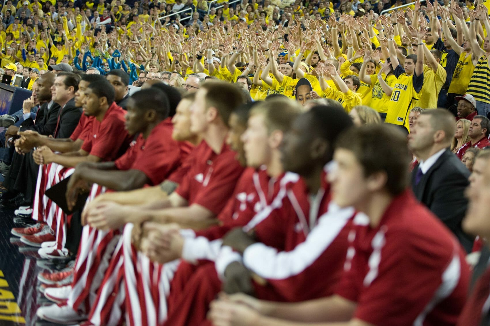 Indiana 72, Michigan 71-2