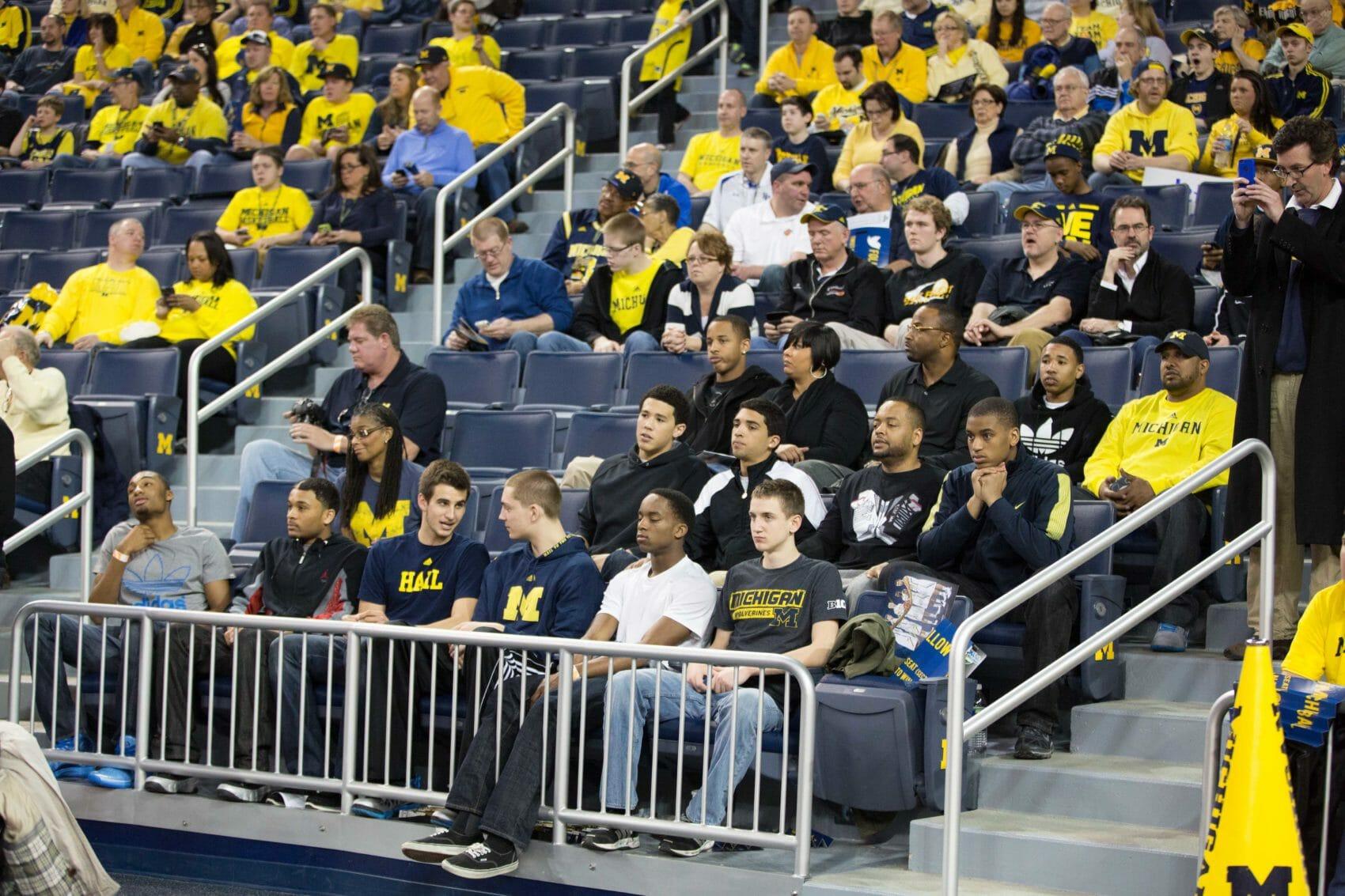 Recruits at Michigan-Indiana