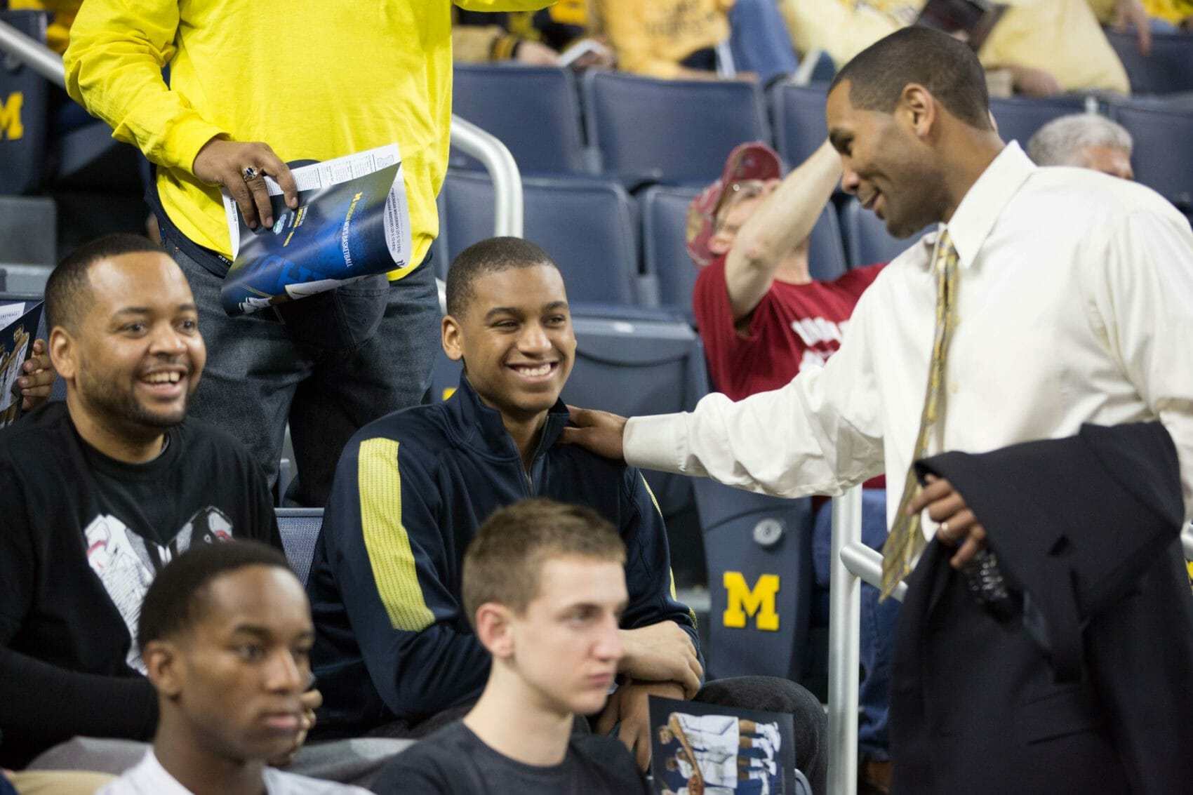 LaVall Jordan and Trevon Bluiett at Michigan-Indiana