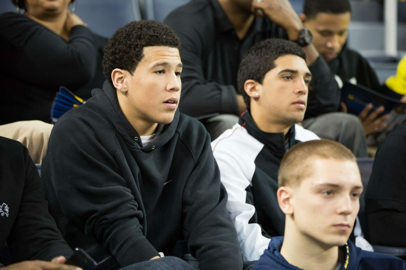 Devin Booker at Michigan-Indiana
