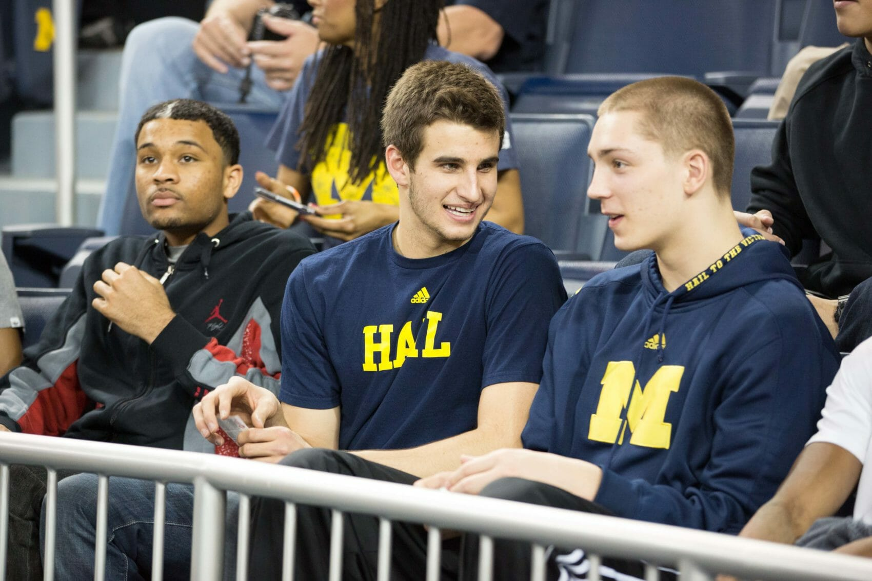 Austin Hatch and Mark Donnal at Michigan-Indiana