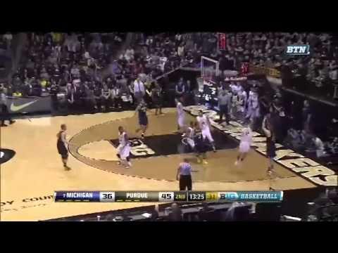 Michigan at Purdue Highlights