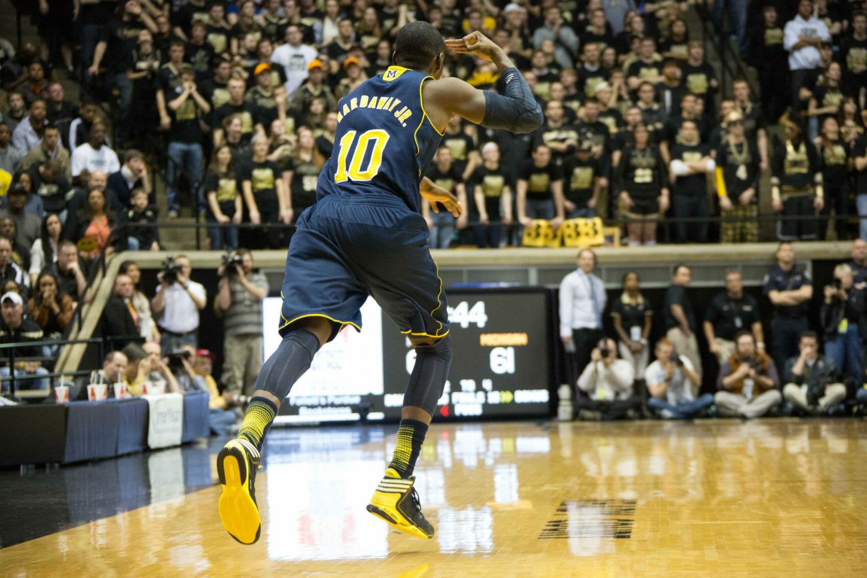 Michigan 80, Purdue 75-24