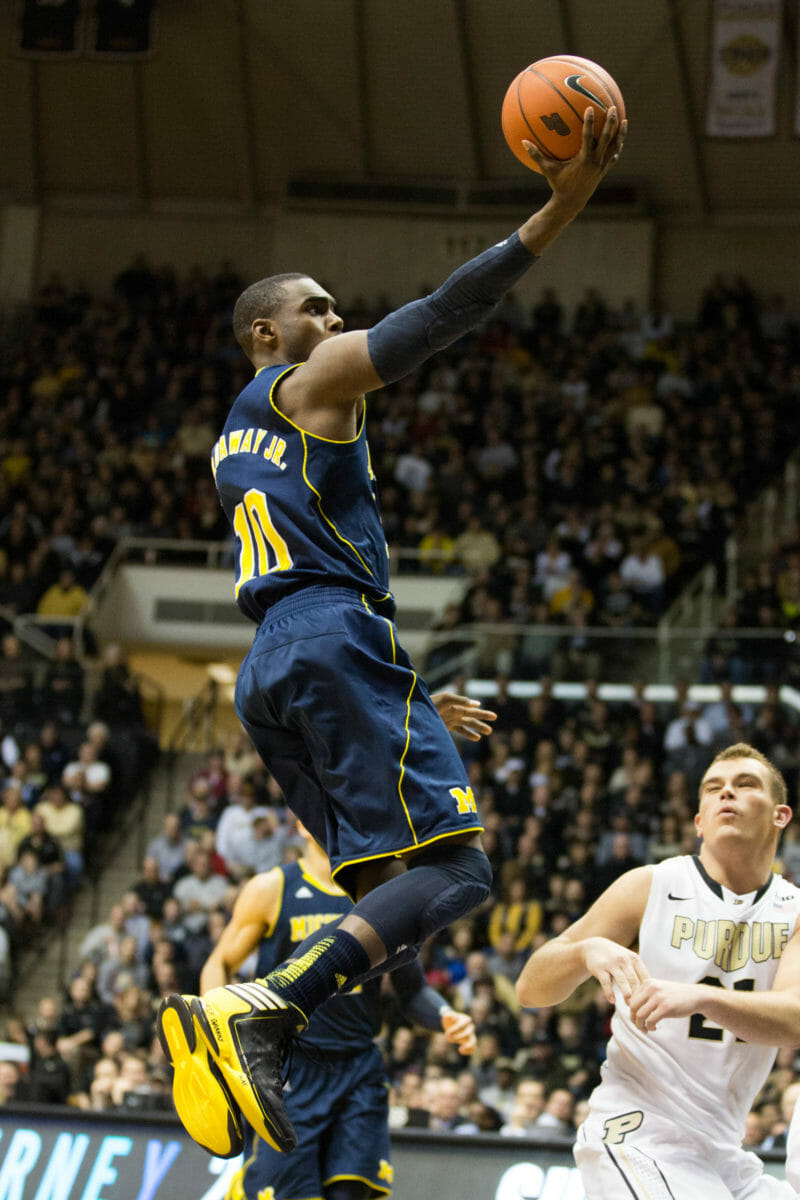 Michigan 80, Purdue 75-16