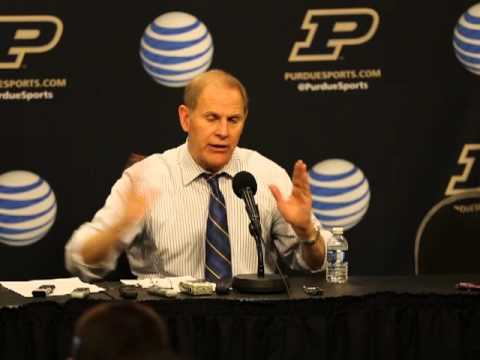 Video & Quotes: John Beilein discusses win over Purdue
