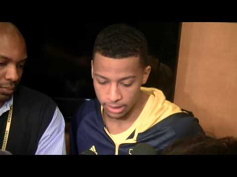 Video: Trey Burke, Caris LeVert after beating Michigan State
