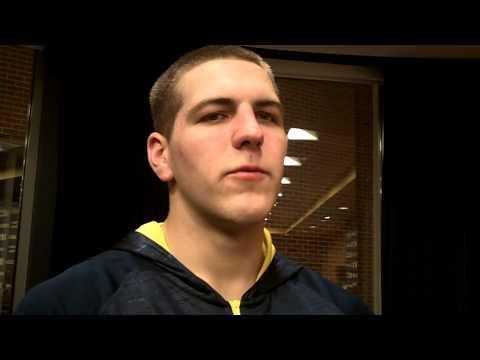 Video: Mitch McGary and Tim Hardaway Jr. talk late win over Michigan State