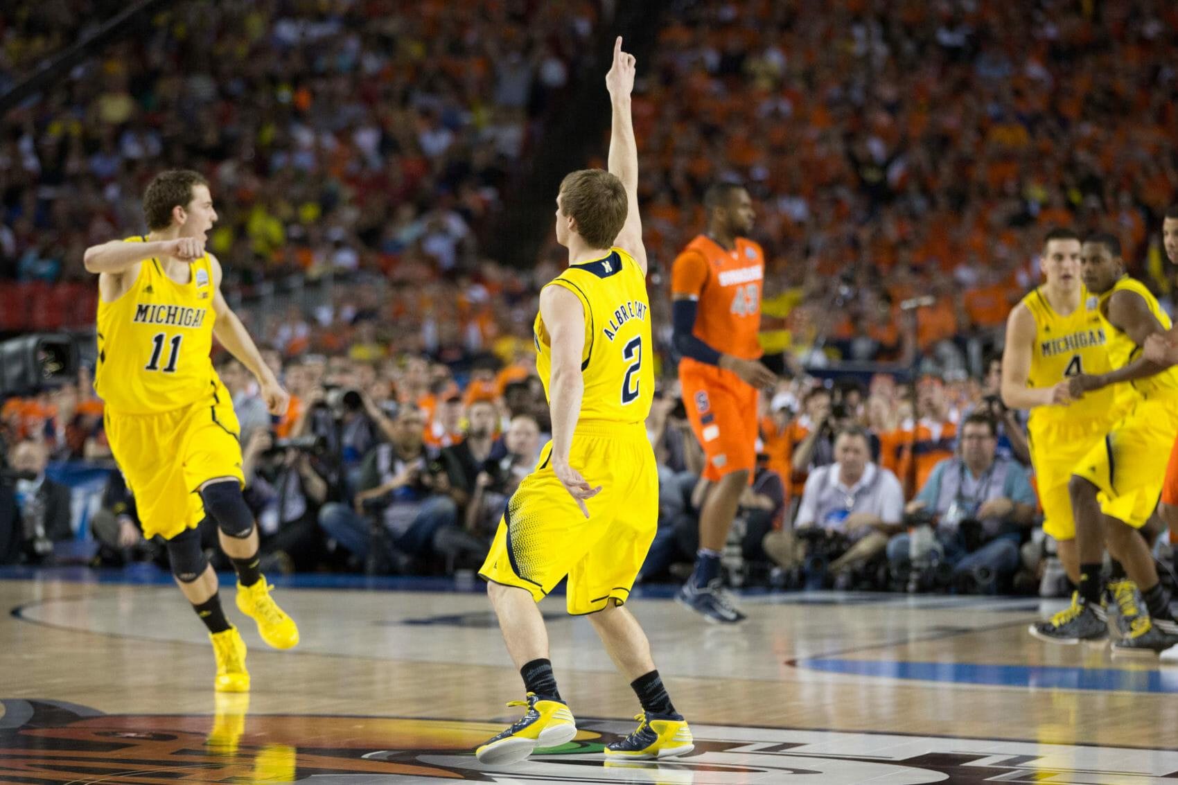 Michigan 61, Syracuse 56-11