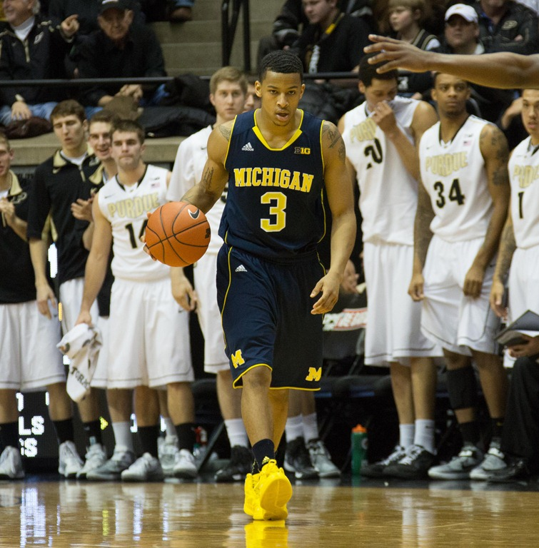 Burke leads Michigan to a comeback win over Purdue