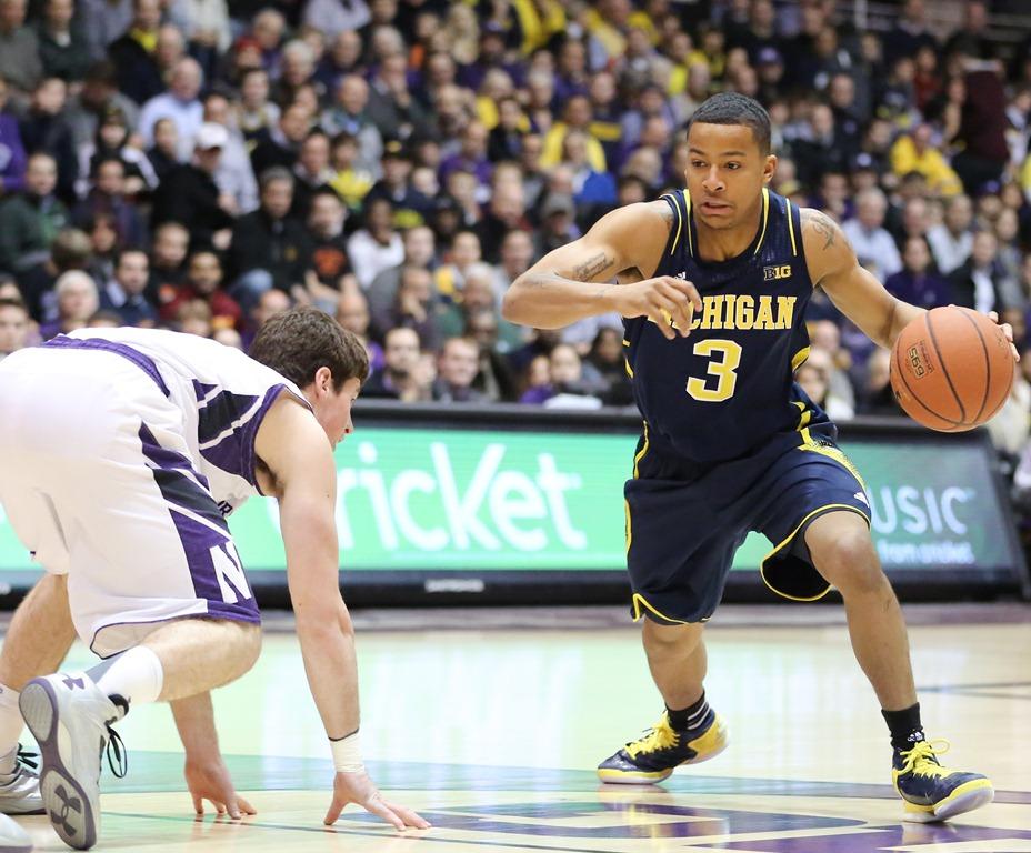Burke breaks ankles in Evanston