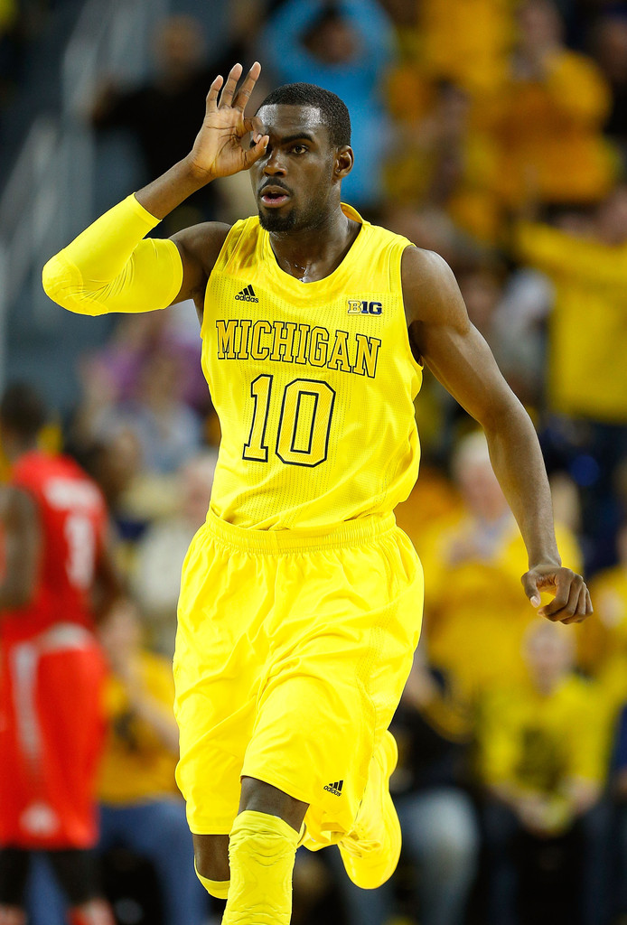 Tim Hardaway Jr. was locked in against Ohio State