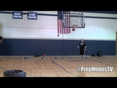 Derrick Walton Summer Workout