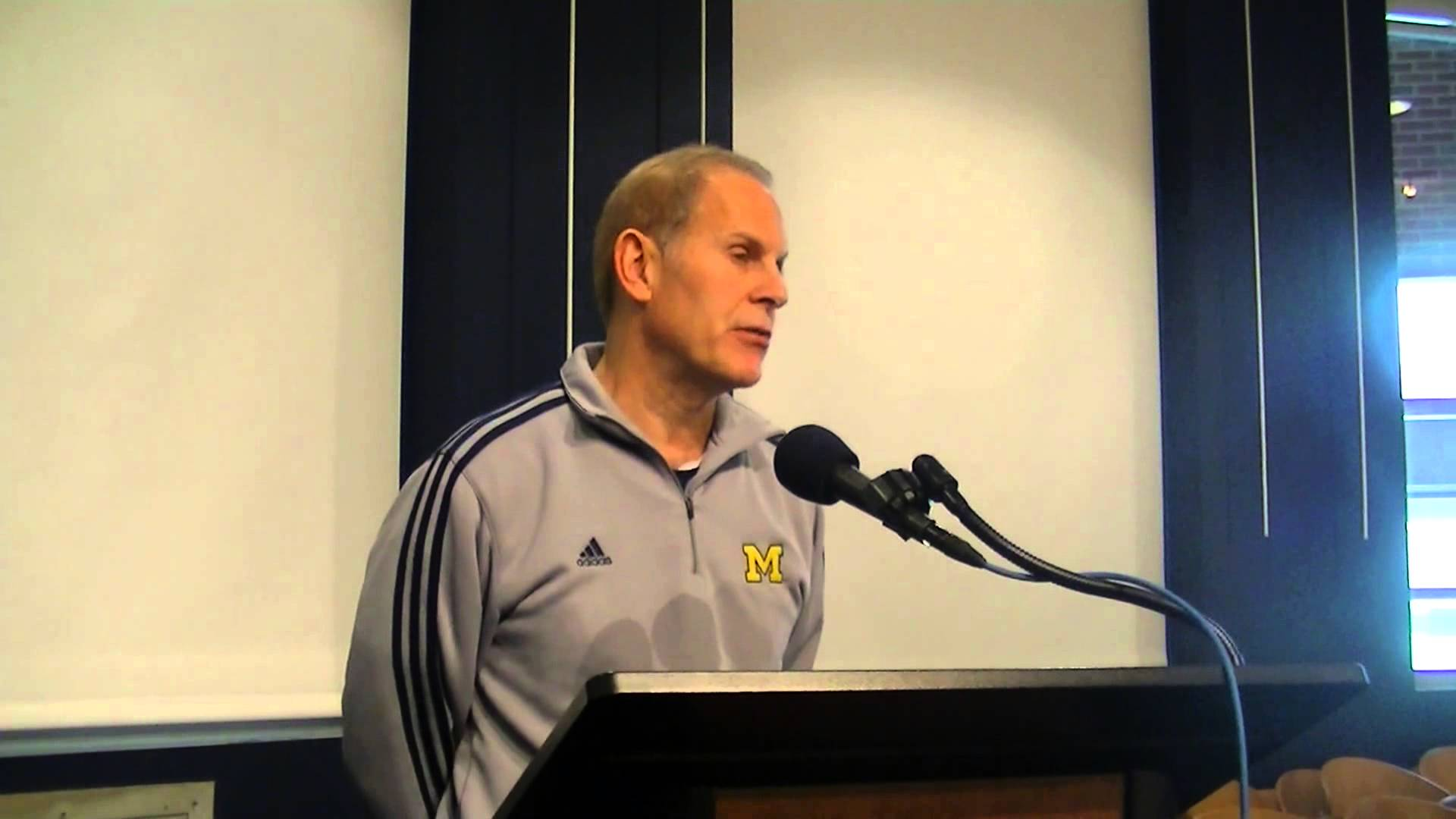 Video: John Beilein on Central Michigan, Horford injury, more