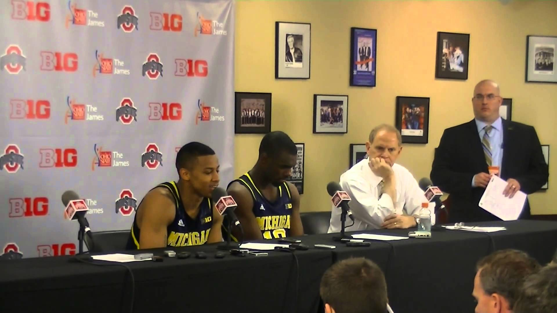 Video: Trey Burke and Tim Hardaway Jr. react to Ohio State loss