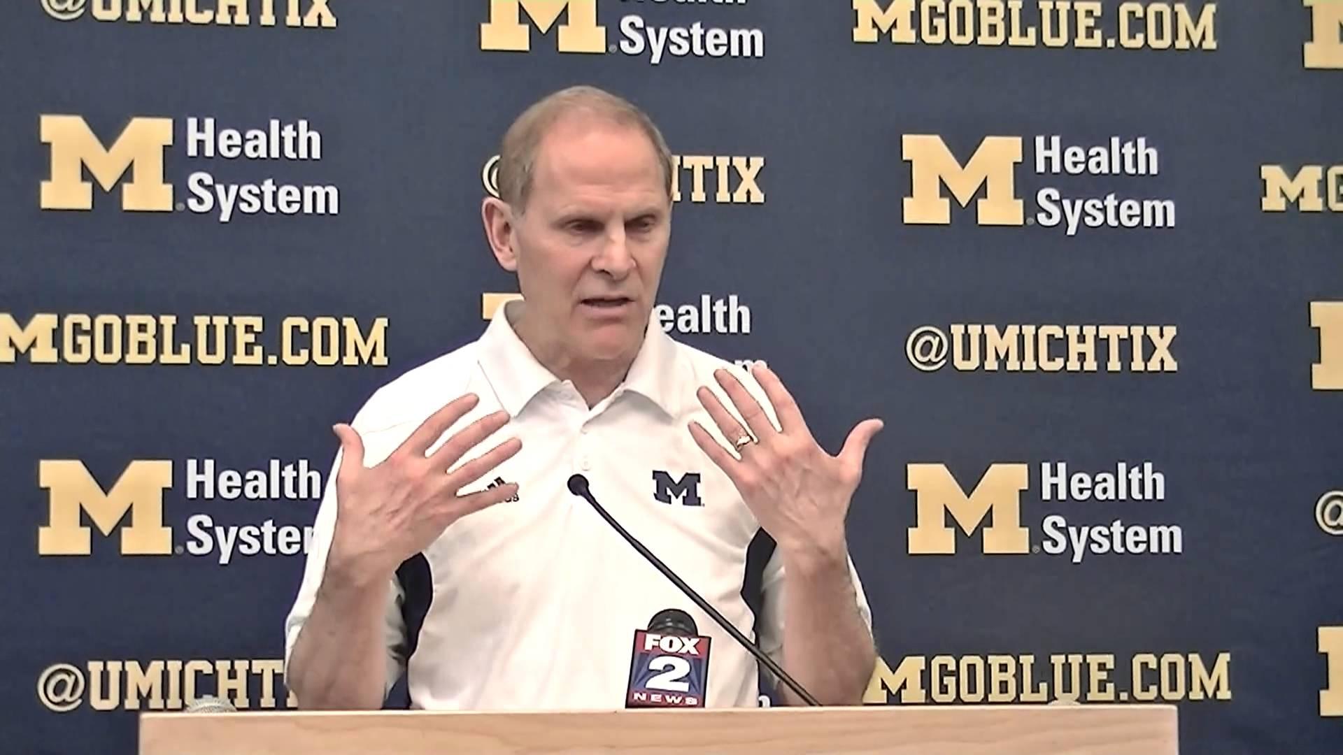 Video: John Beilein previews Indiana, updates Jordan Morgan injury