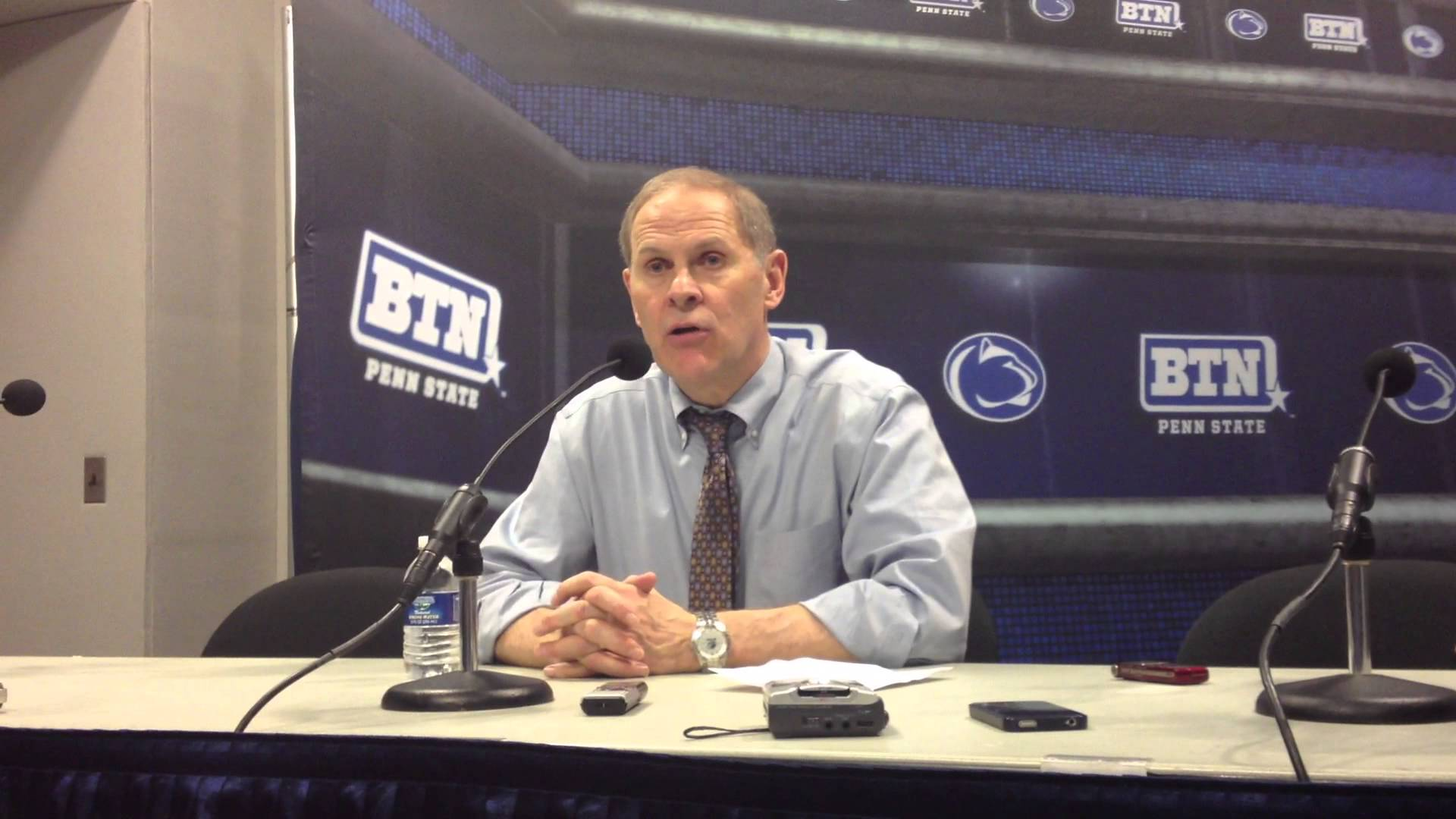 Video & Quotes: John Beilein reacts to upset loss at Penn State
