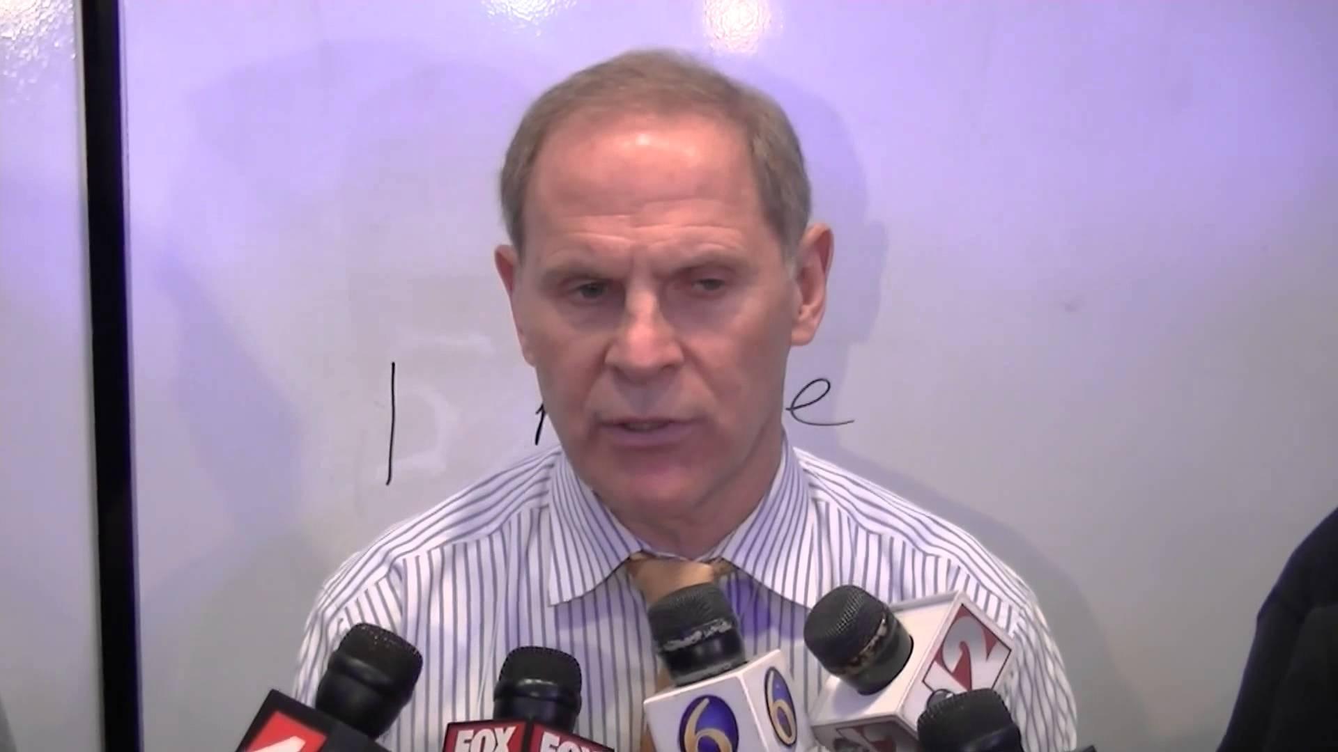 Video: John Beilein, LaVall Jordan recap NCAA opener