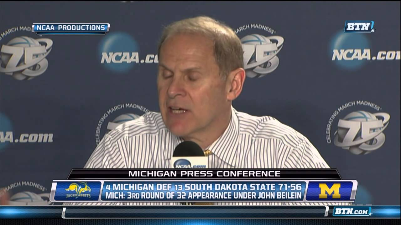 Video: Michigan, South Dakota State postgame press conferences