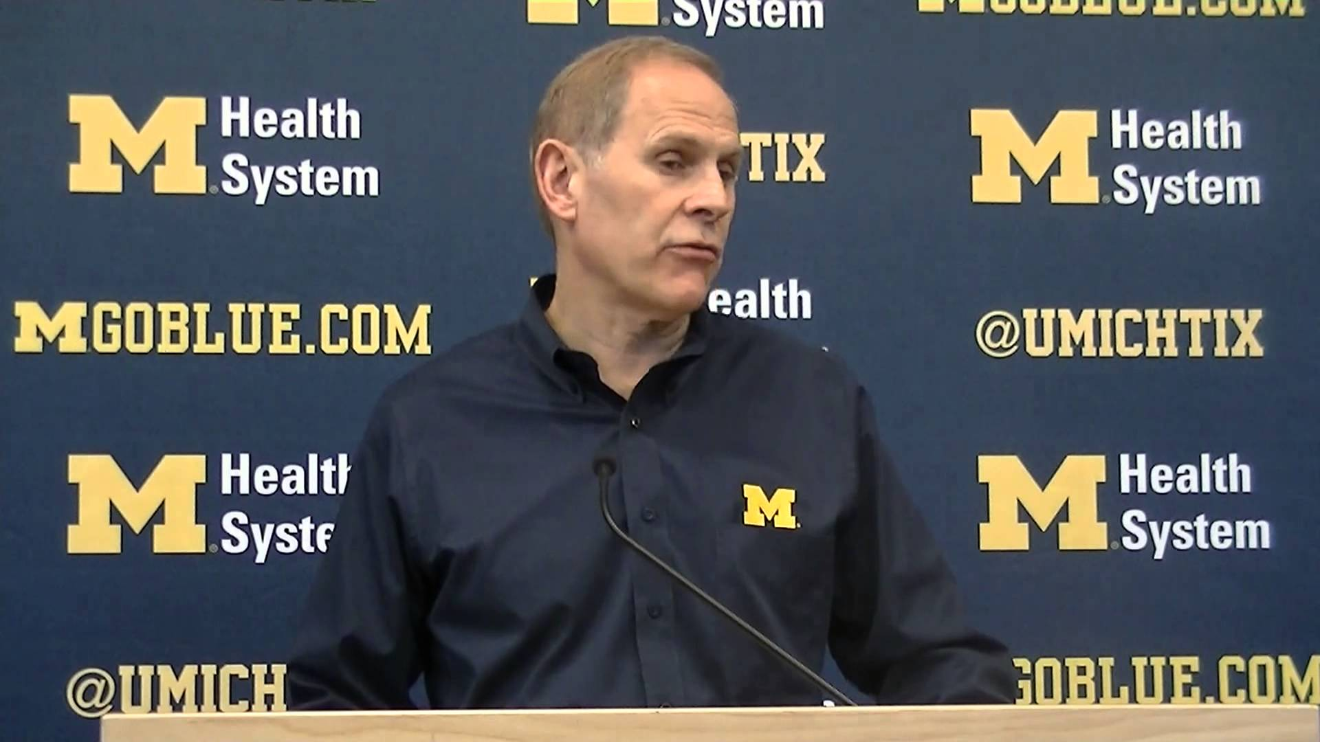 Video: John Beilein previews Kansas