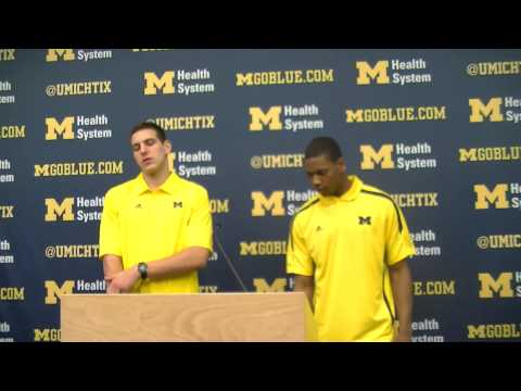 Video: Mitch McGary and Glenn Robinson III announce they are returning to Michigan