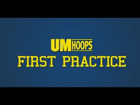 Video: Michigan's first basketball practice of 2013-14