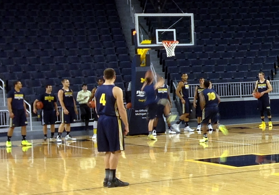 Michigan First Practice – 16