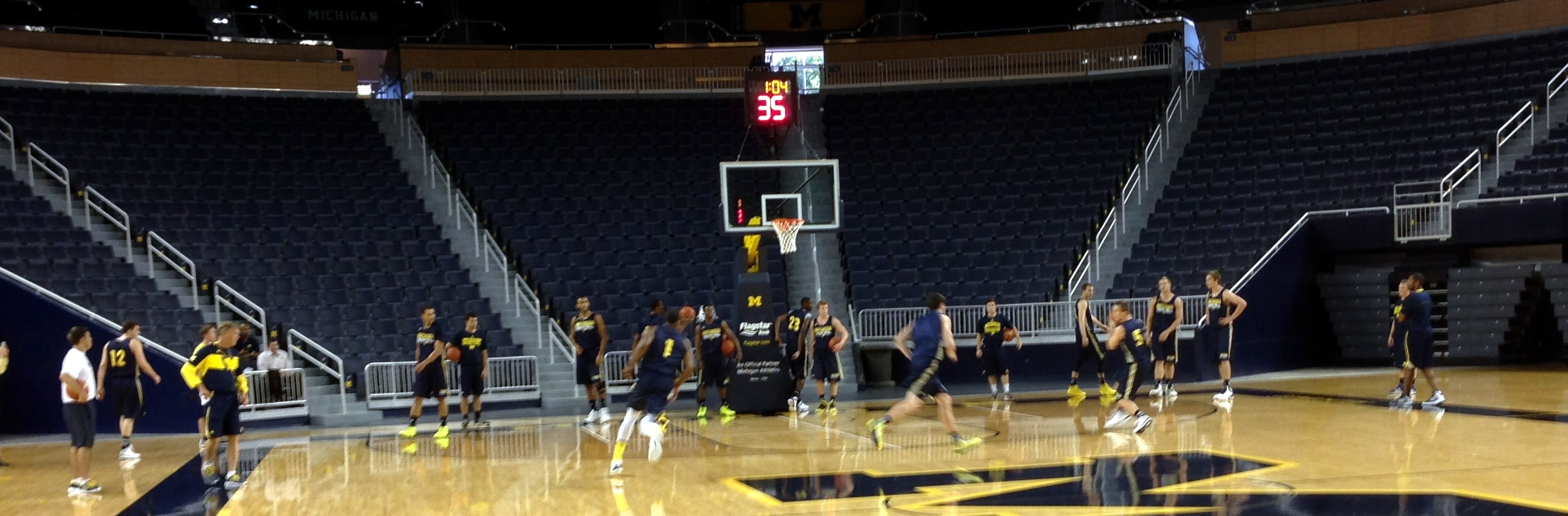 Michigan First Practice – 15