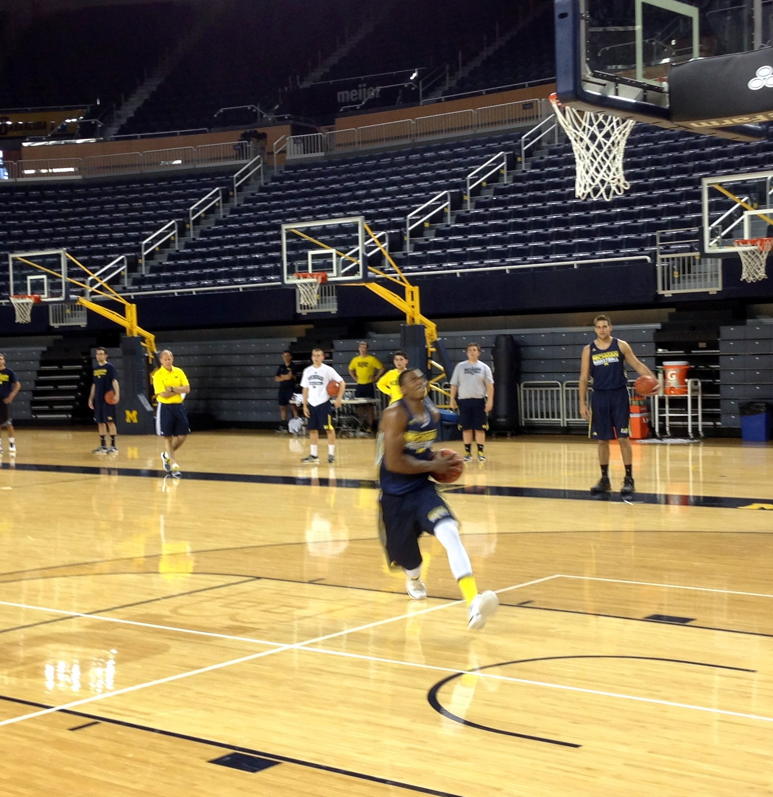 Michigan First Practice – 13