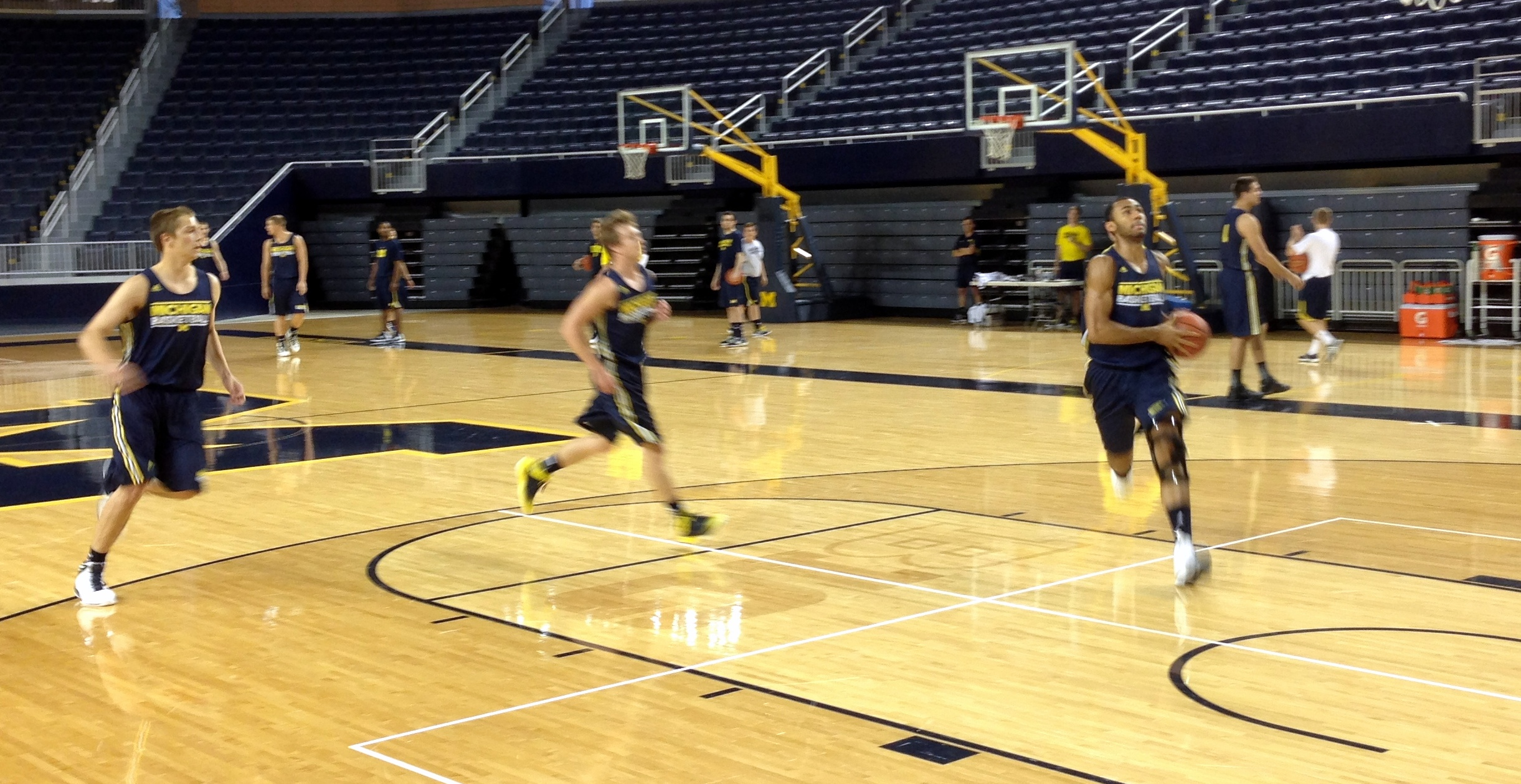 Michigan First Practice – 12