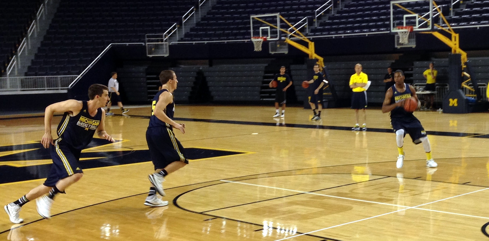 Michigan First Practice – 10