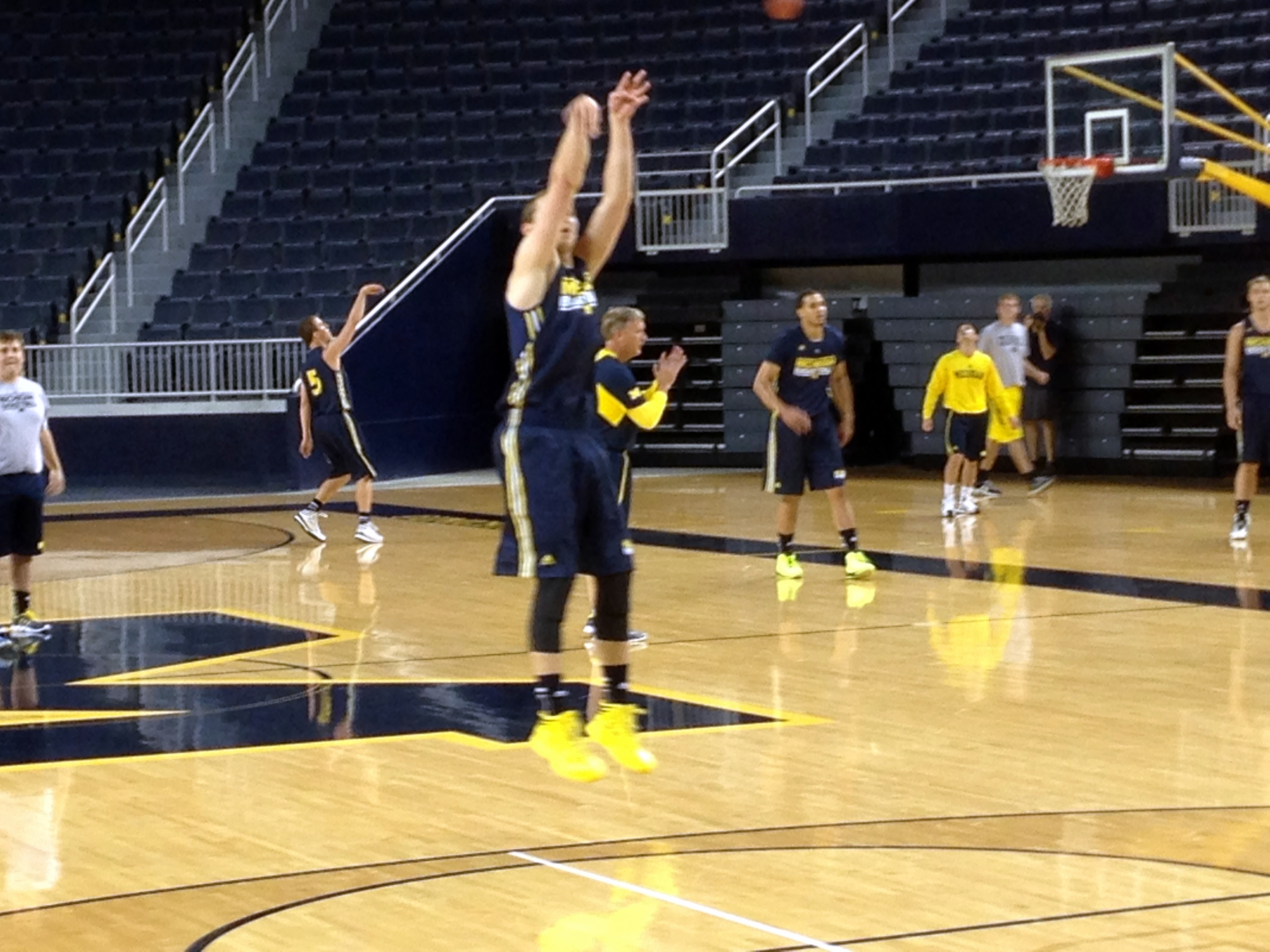 Michigan First Practice – 9