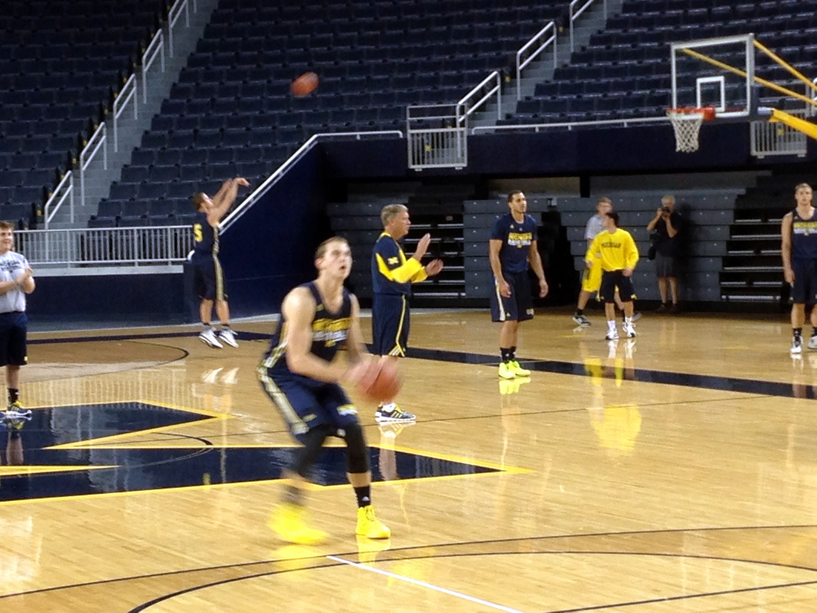 Michigan First Practice – 8