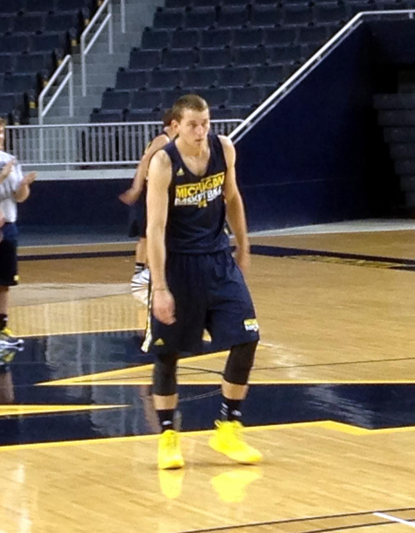 Michigan First Practice – 7