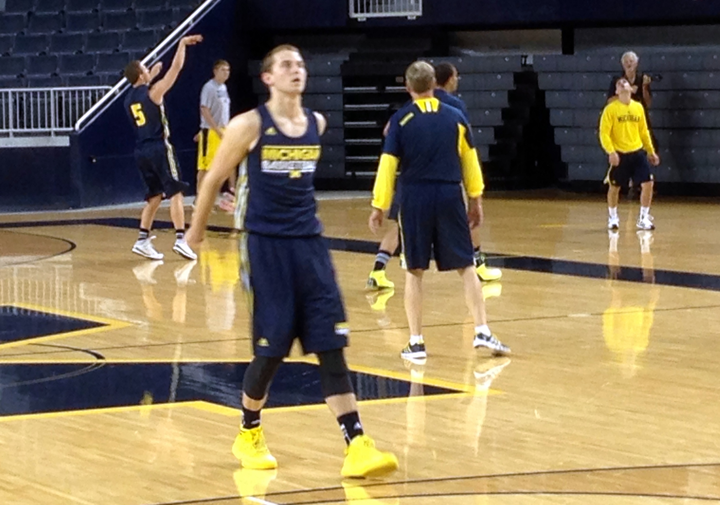 Michigan First Practice – 6