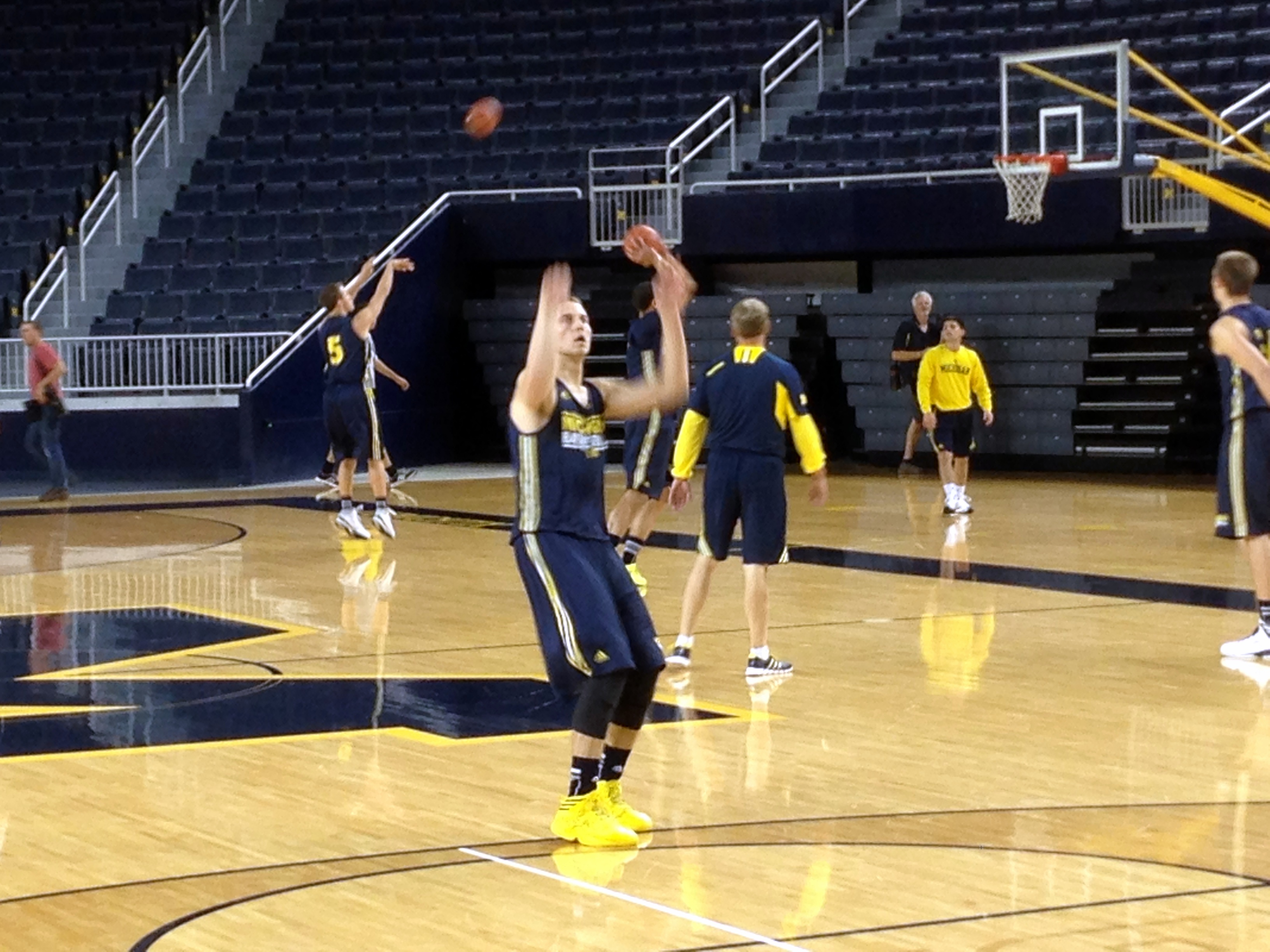 Michigan First Practice – 5
